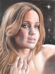 Jennifer Lawrence by MrWhiteG