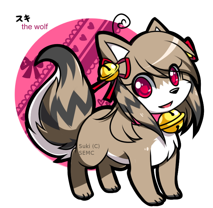 Suki the Wolf: Design by Jiayi by SEMC