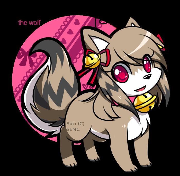 Suki the Wolf: Design by Jiayi by SEMC