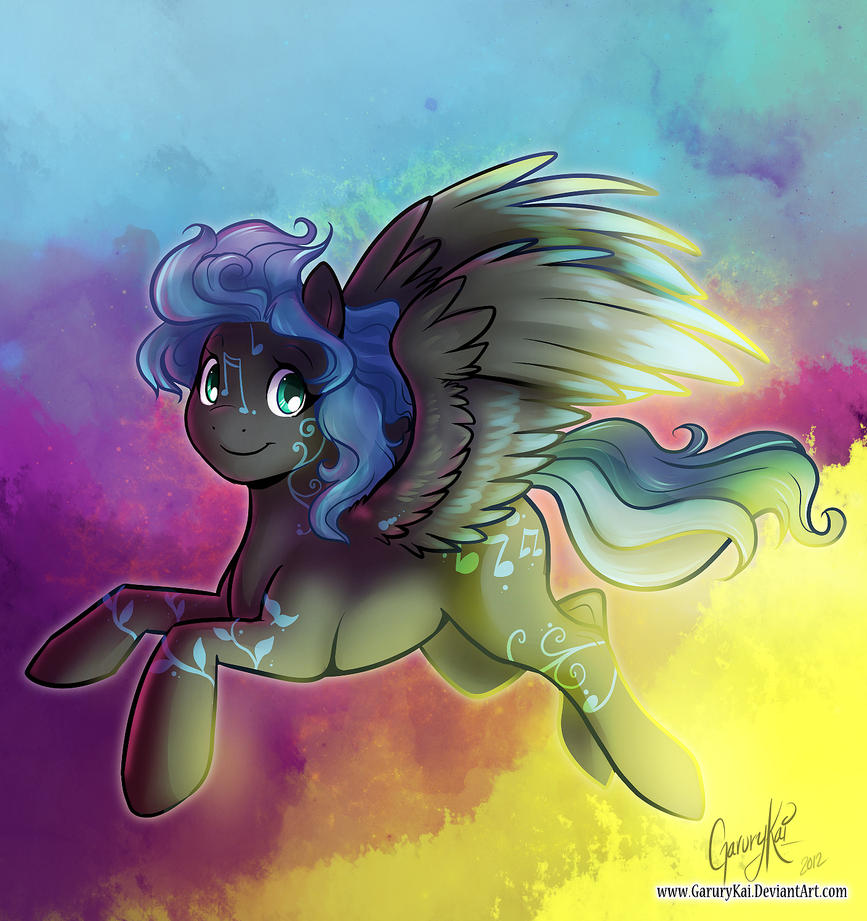 Sage - Pegasus Pony - by GaruryKai by SEMC