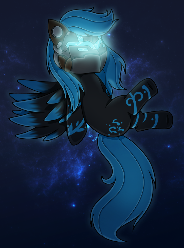 Sage - MLP Dead Space - Stay Spaced by Sonicgirl21 by SEMC