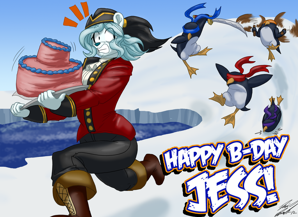 Happy birthday Jess - by toughset by SEMC