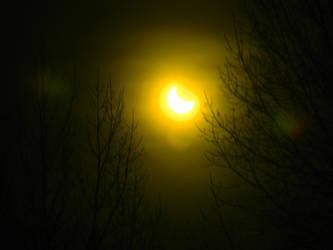 Wyoming Solar Eclipse Oct 23, 2014 (1 of 4) by SEMC