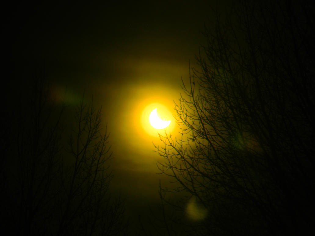 Wyoming Solar Eclipse Oct 23, 2014 (2 of 4) by SEMC