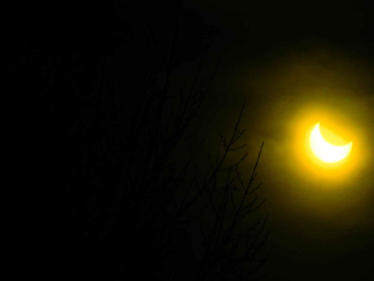 Wyoming Partial Eclipse Oct 23, 2014 (3 of 4) by SEMC