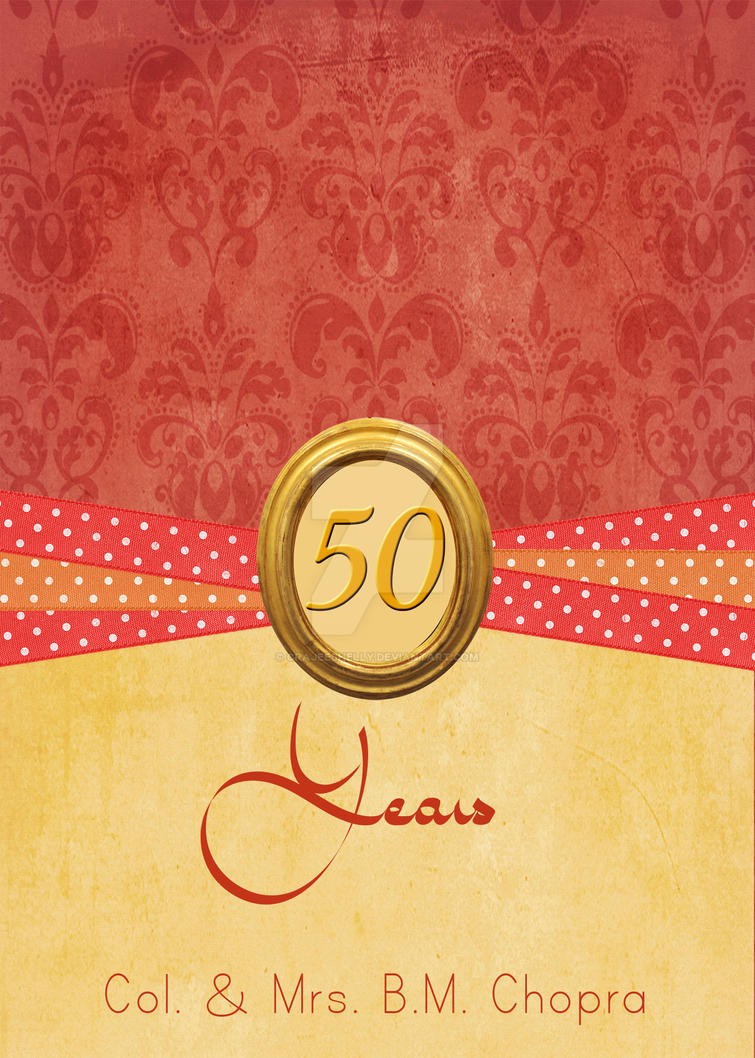 Golden jubilee invites by crajeeshelly on deviantart golden jubilee invites by crajeeshelly kristyandbryce Choice Image