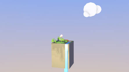 christm challenge day 5- Minimalistic paradise by Thierry-ThefoxGamer