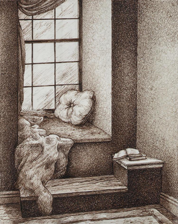 Window Seat by ArtbySandiJohnson