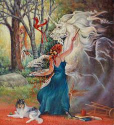 la Magicienne by ArtbySandiJohnson