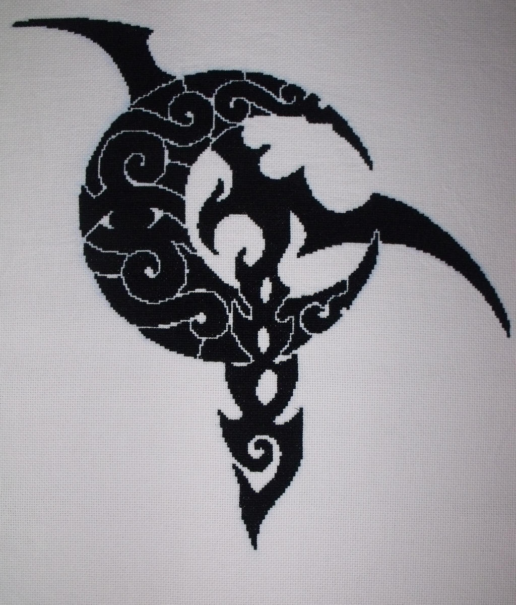 Lineage 2 Dark elf logo by Tifa666