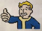 Fallout BipBoy Cross Stitch