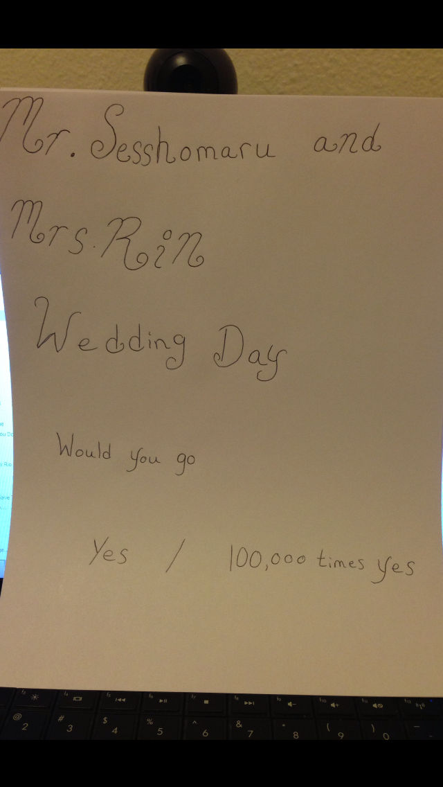 Wedding day would you go