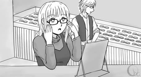 TBH - Dump Art 2 - Trying Glasses