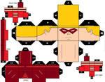 CubeeCraft Red Arrow DC Super Heroes
