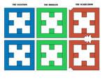 Cubbercraft Accesories 5 DC Super Heroes