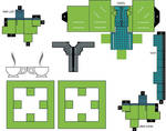 Cubbercraft Mad Hatter DC Super Heroes