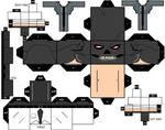 Cubbercraft Black Mask DC Super Heroes