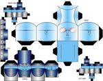 Cubee Craft Mr. Freeze DC Super Heroes