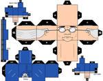 Cubee Craft  Ventriloquist DC Super Heroes
