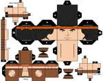 Cubeecraft  Apache Chief DC Super Heroes