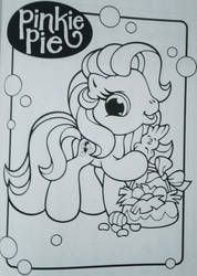 Pinkie Pie Easter coloring page