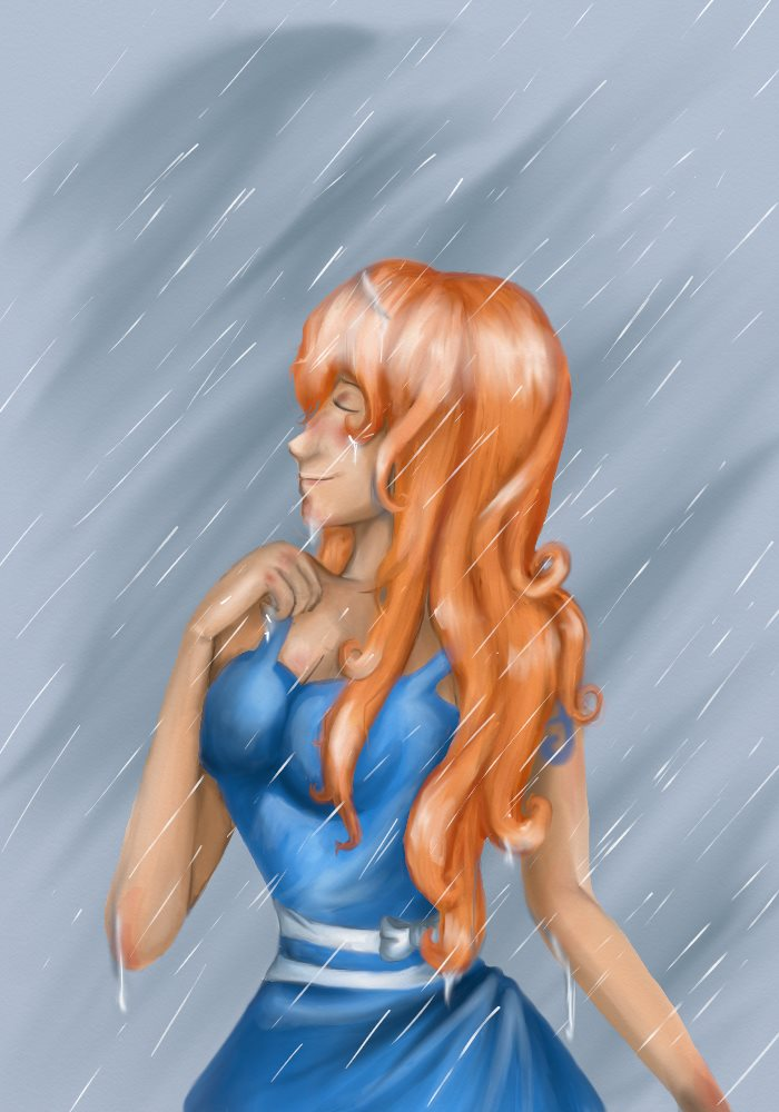 She, who rules the rain by SomebodyOutHere