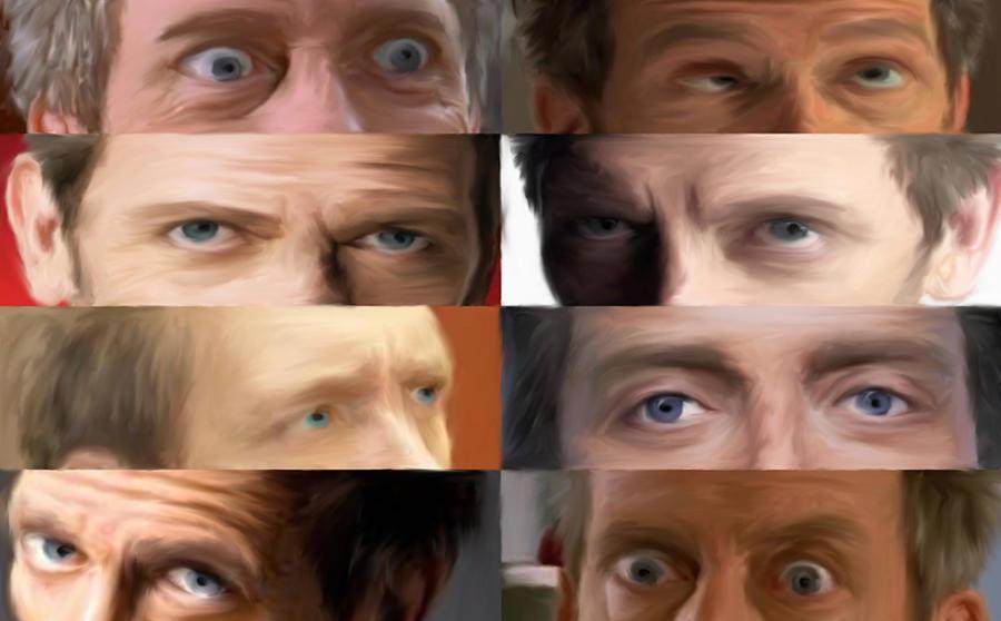 The Many Eyes of House MD by MadnessMayhem133