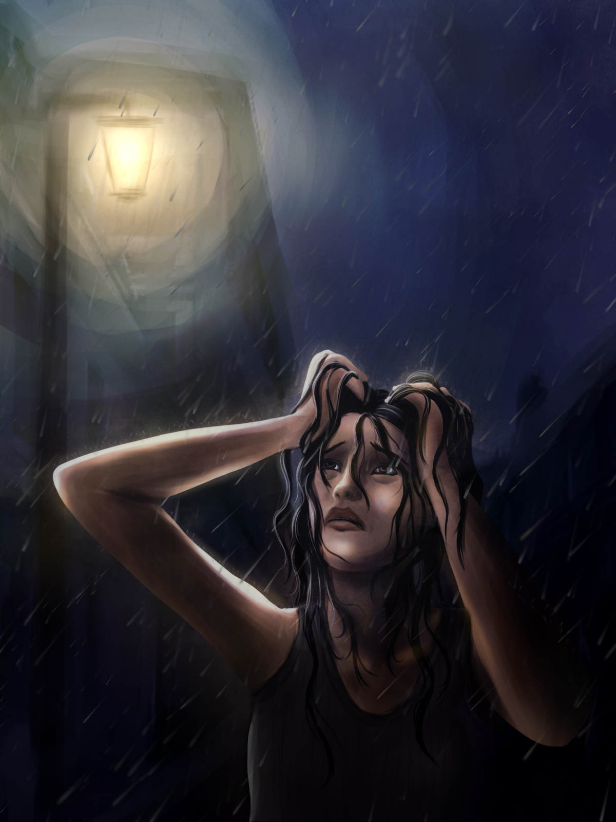 Cant See Tears In The Rain by NuraNooni