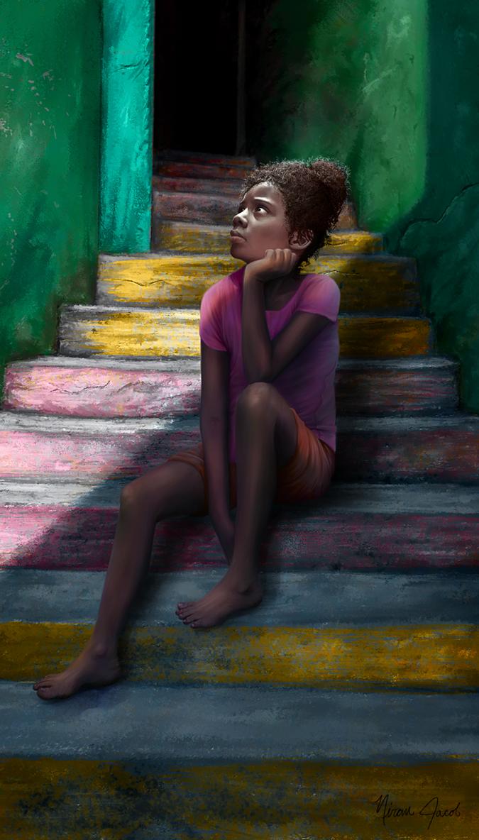 Favela Stairway by NuraNooni