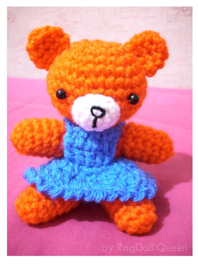 Amigurumi Little Bear : Little amigurumi bear. by xragdollqueen on deviantART