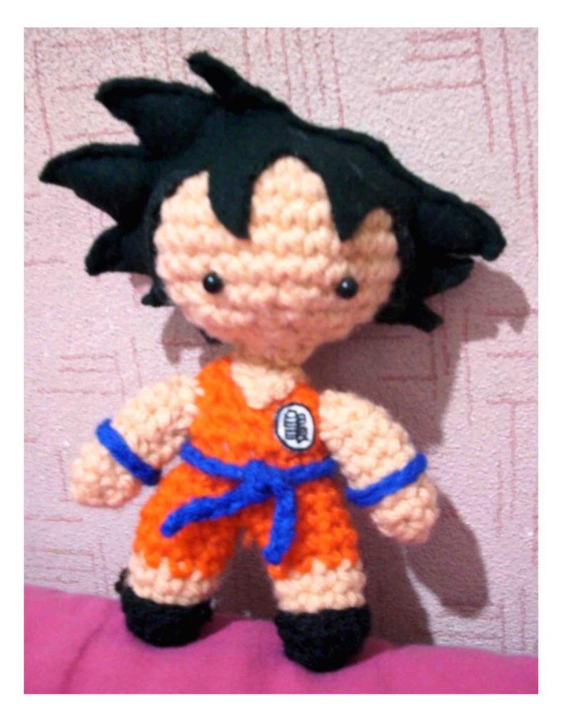 Amigurumi Dragon Ball Goku : Chibi Goku amigurumi by xragdollqueen on DeviantArt