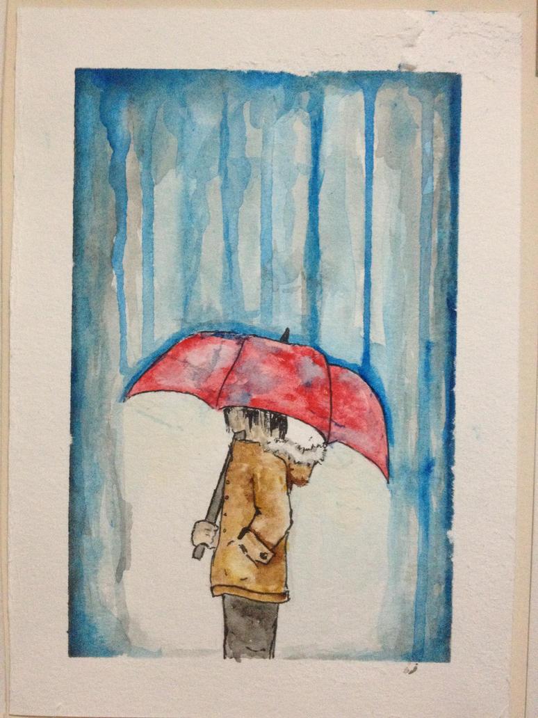 Rain by Onigiripencil