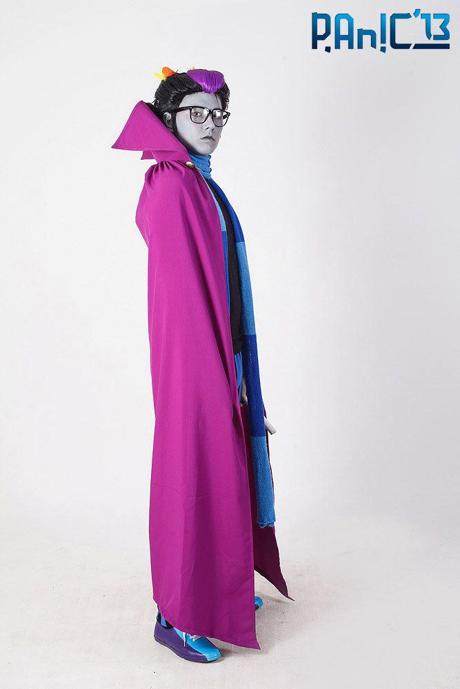 Eridan Ampora cosplay - Wwhat are you looking at? by Dead-Batter
