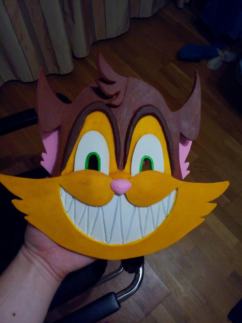 craft time! - cat mask by Dead-Batter