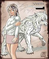 Yvette, by Lobo Leo by Heliotroph
