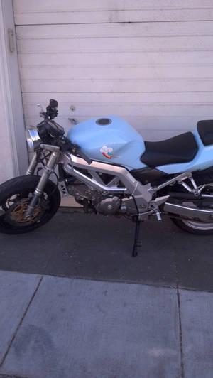 Rainbow Dash Motorbike