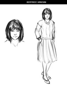 Lycanthrope Club Webcomic Character Preview #1