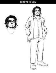 Lycanthrope Club Webcomic Character Preview #3