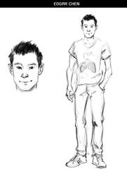 Lycanthrope Club Webcomic Character Preview #4