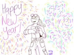 Happy New Year 2019! by DonniesGirl87