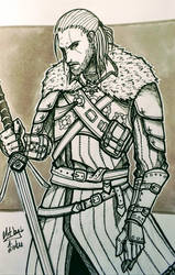 Geralt of Rivia by Lintuworks