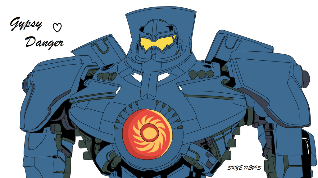 Gipsy danger vector