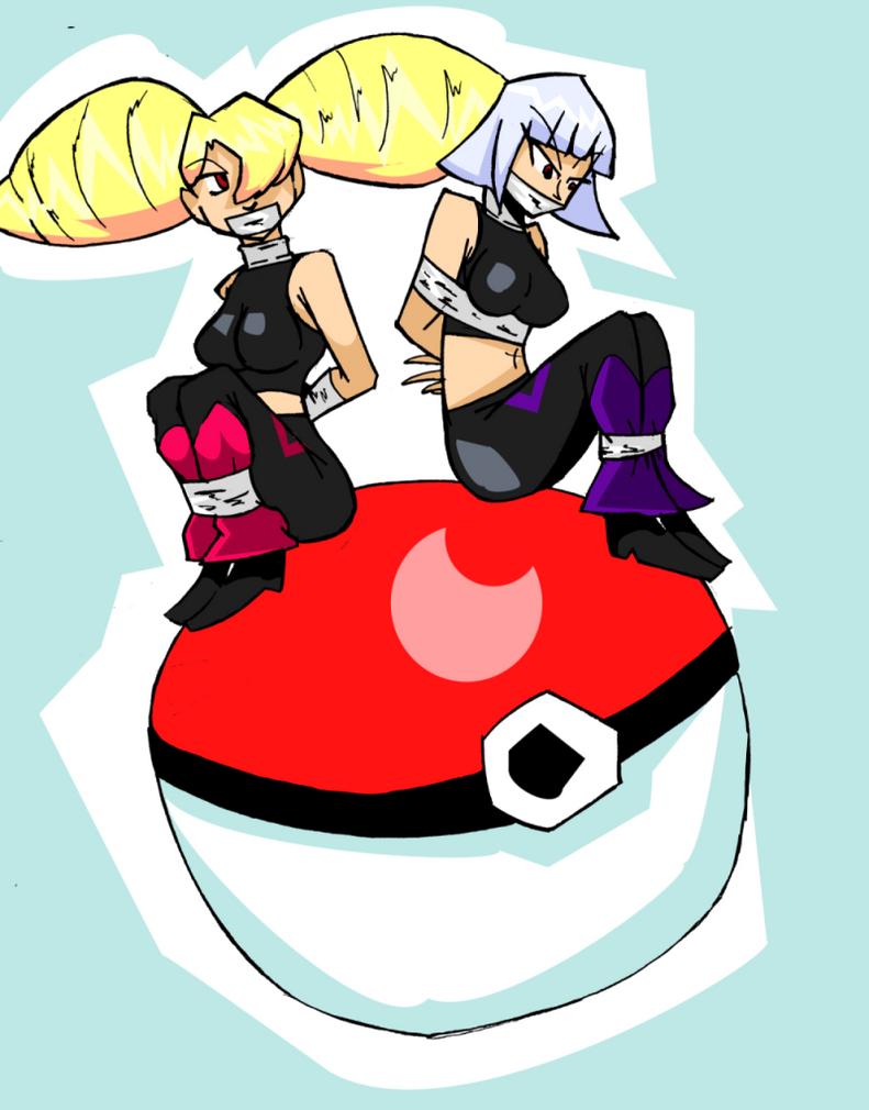 Pokemon Villainesses by Aksika