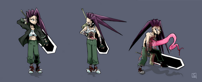 Flo Character Concepts