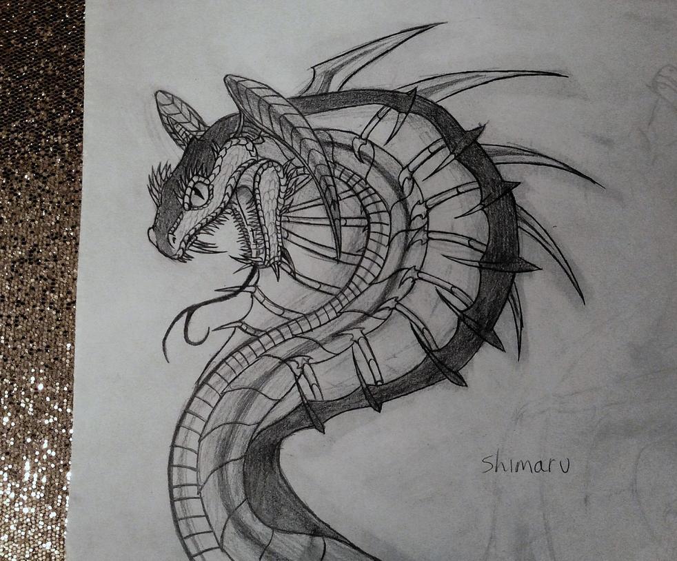 Cobra of the Shadows by KethendDragon