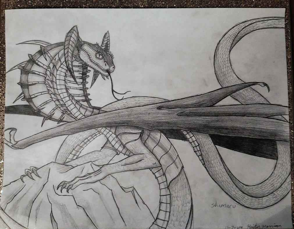 Cobra of the Shadows pt2 by KethendDragon
