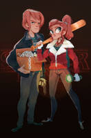Stranger Things/ Jancy by Siarina