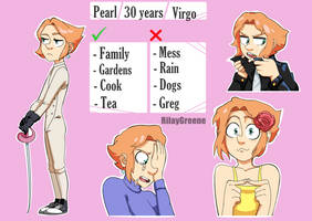 Meet my human pearl by RilayGreene