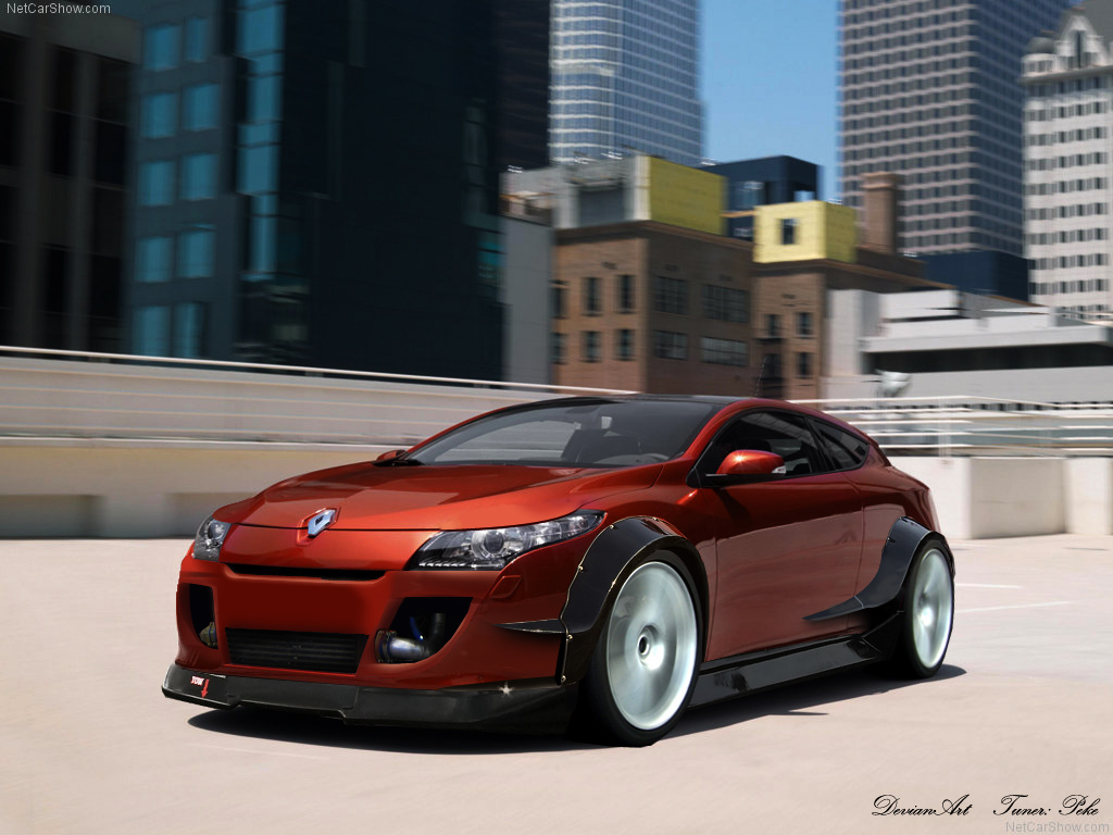 Renault Megane Coupe by pekedesgin