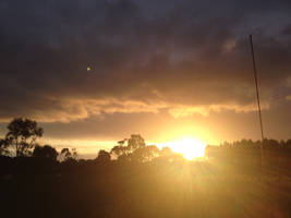 Sunset by AussieFlea